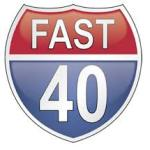 fast 40 sign